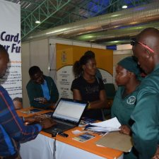 NSFAF participation at Ongwediva Trade Fair